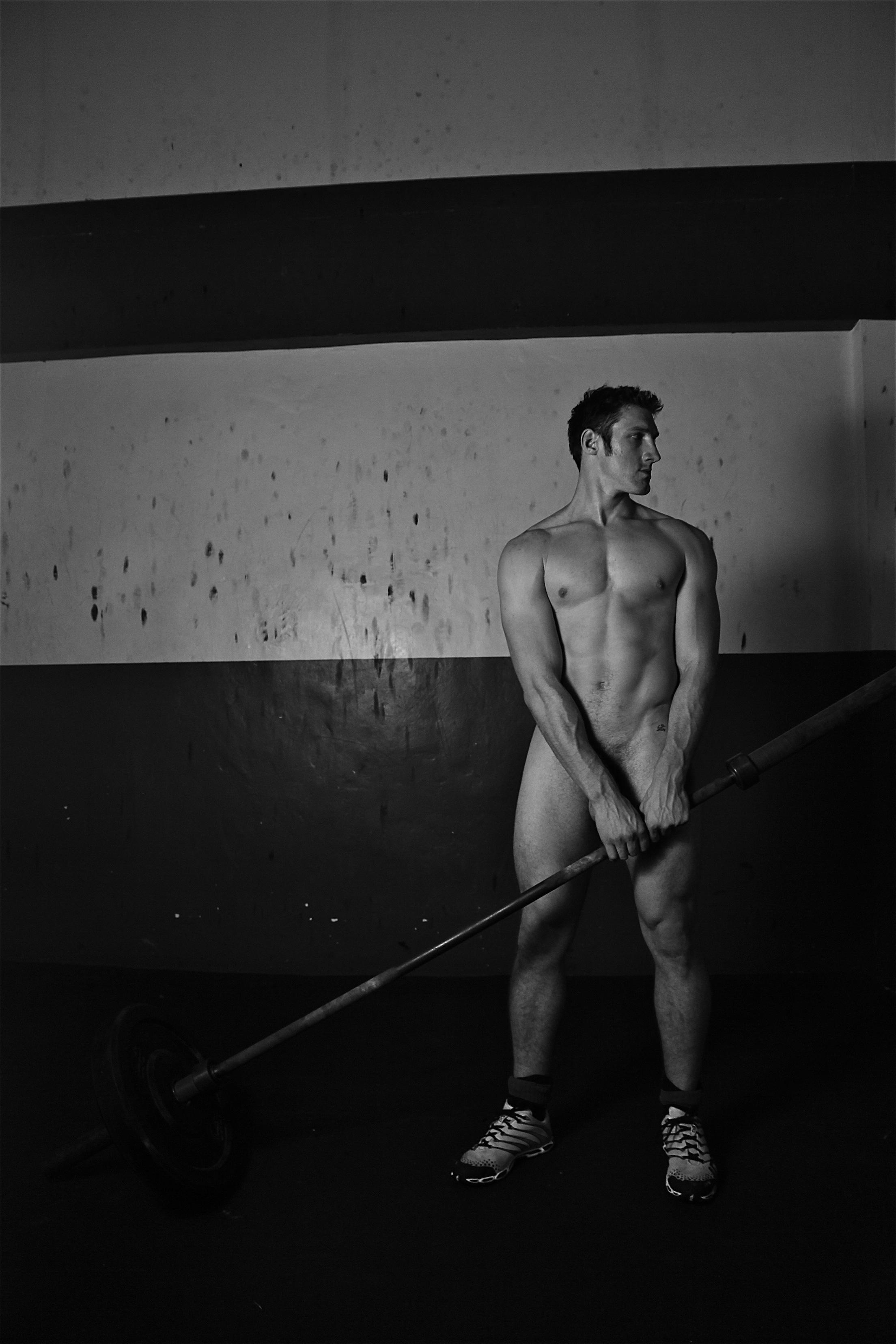 Mr naked pole vaulting man