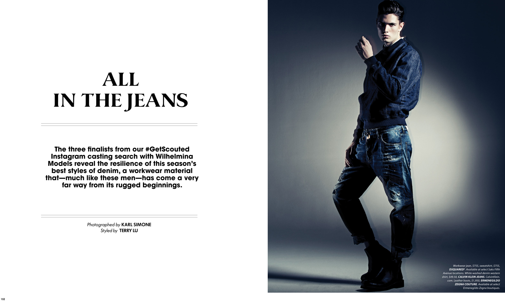 ALL IN THE JEANS BY KARL SIMONE