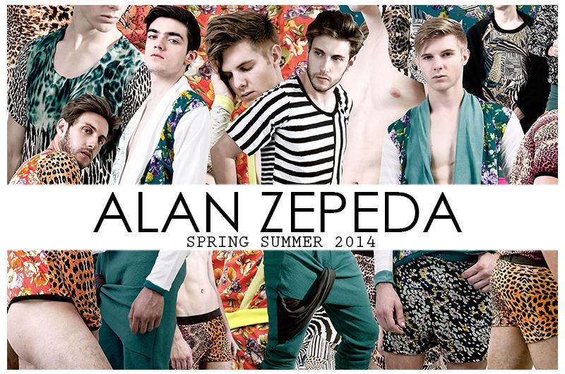 Alan Zepeda Spring/Summer 2014