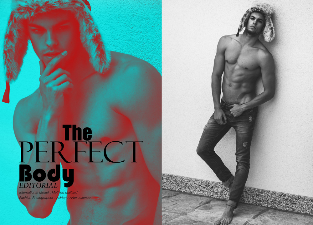 The Perfect Body | Mathieu Mailard by Adriano Artexcellence