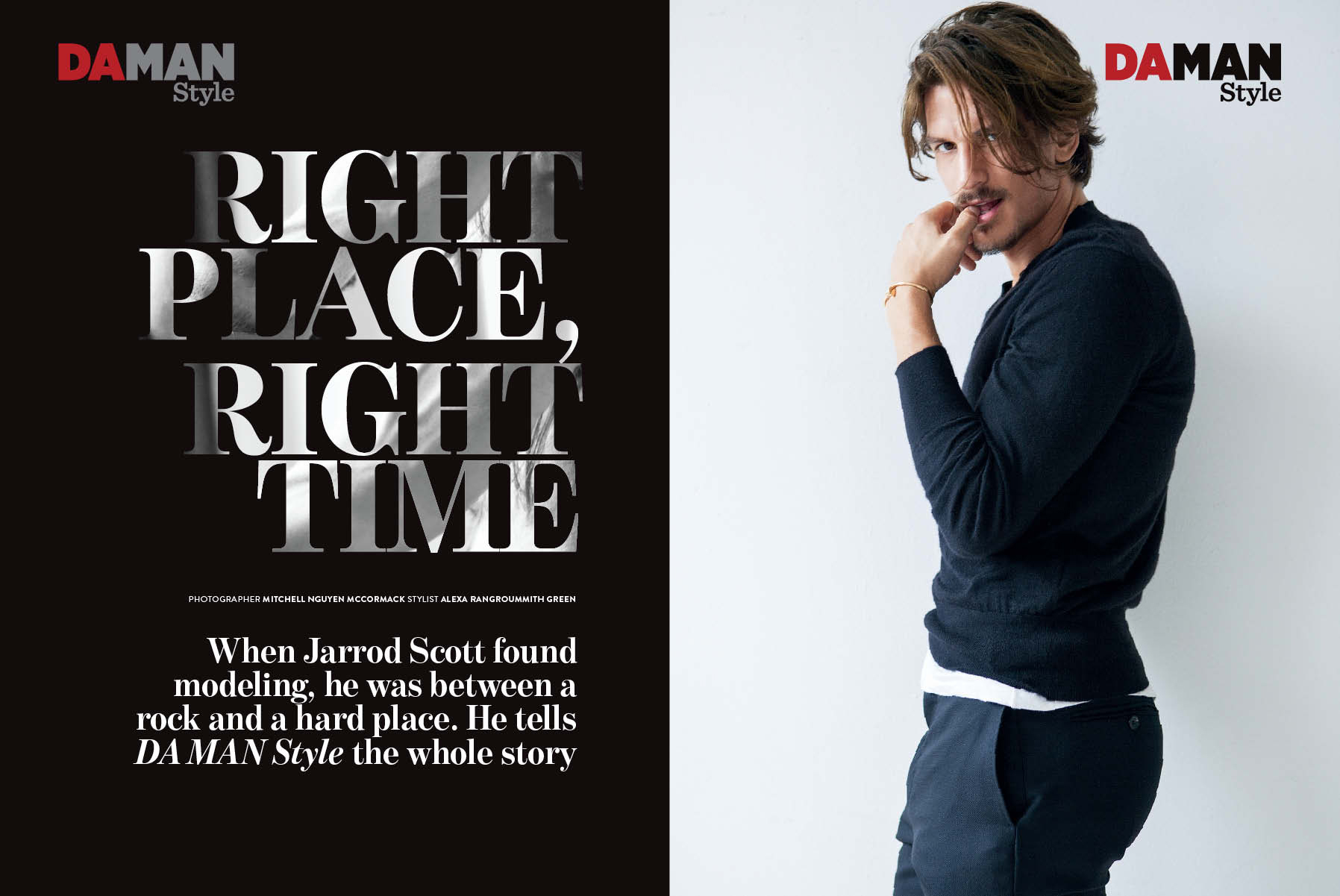 RIGHT PLACE, RIGHT TIME | DAMAN STYLE MAGAZINE
