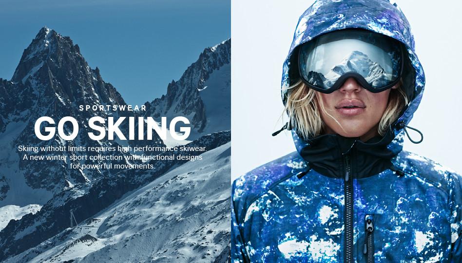 """H&M """"Go Skiing"""" Lookbook"""