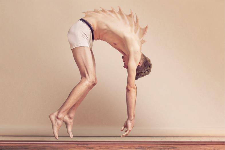 #art Metamorphosis : Me or Edward Human body ...