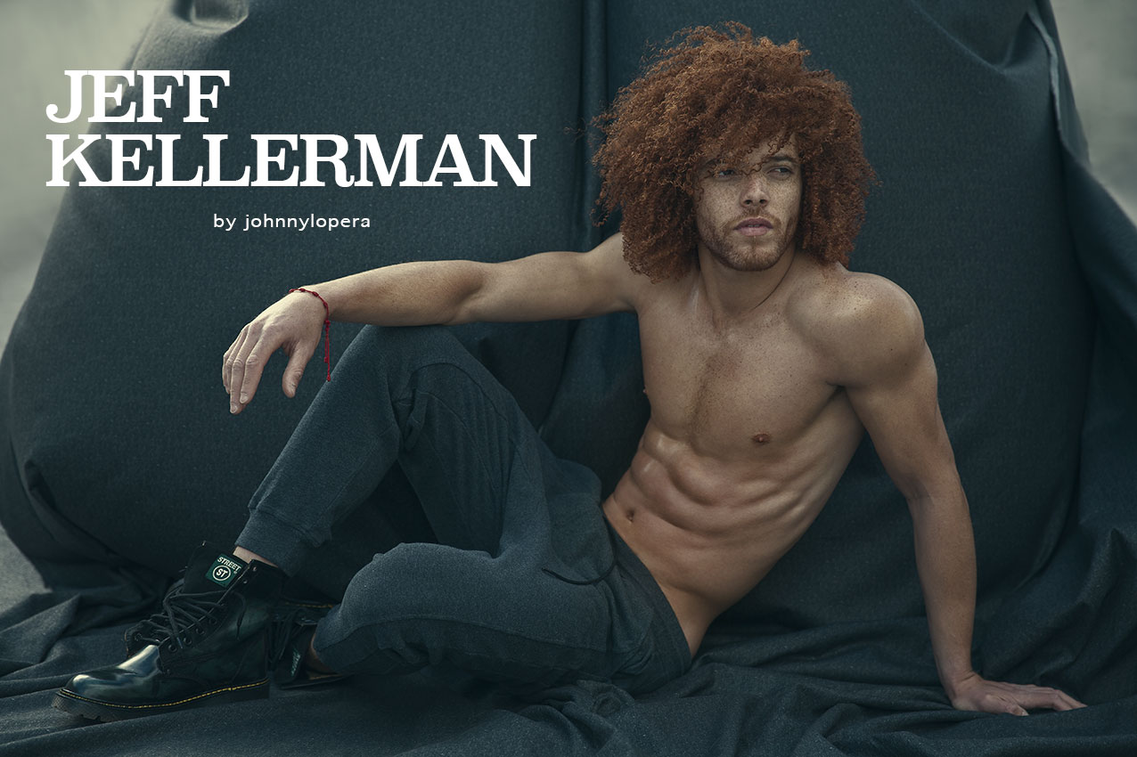 Fashionably Male presents Jeff Kellerman by Johnny Lopera