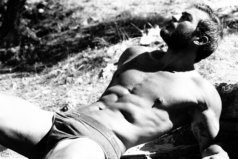 A lovely B&W series by talented photographer Jiorjia Jester starring hunk male model Ilias Lab, Creative Director of this story is beloved friend Raftopoulos Argiris.