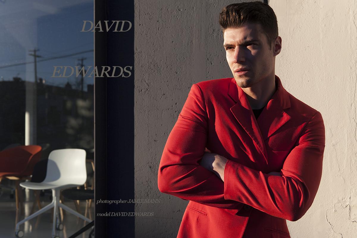 David Edwards photographed by Jamie Mann