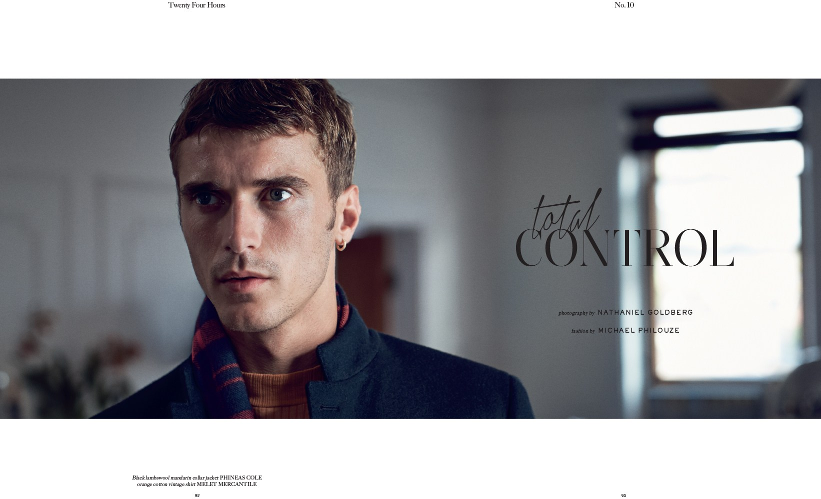 Total Control | Man of the World Issue 10