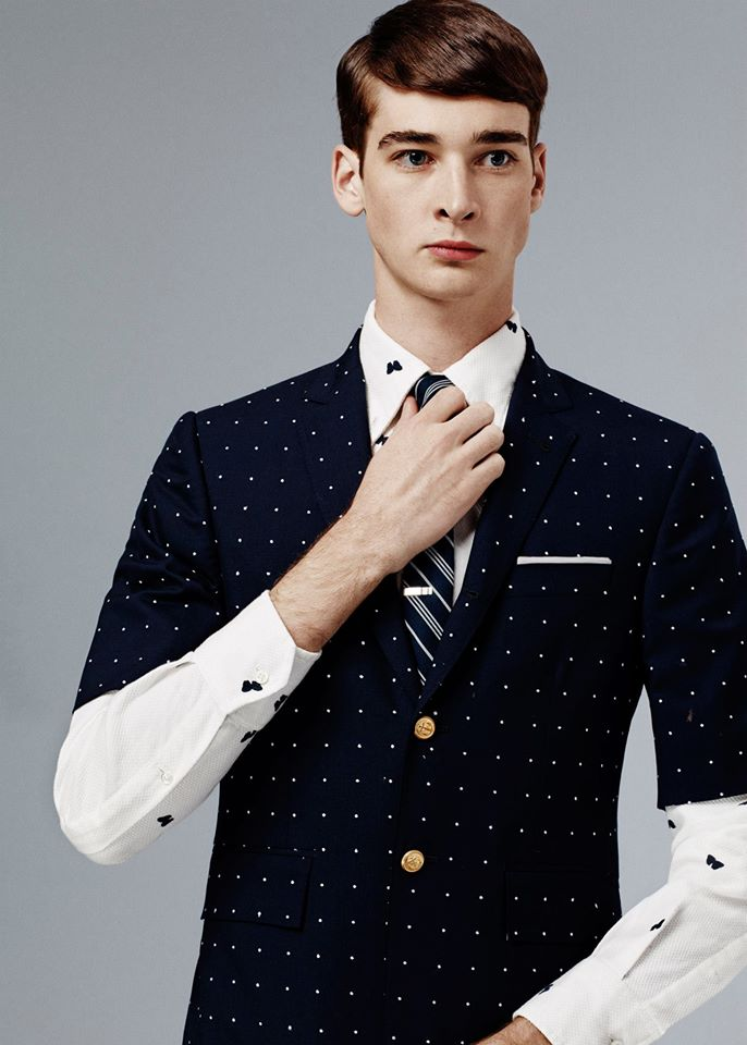 7cf92c02def0 Thom Browne Spring 2015 Men s Collection - Fashionably Male