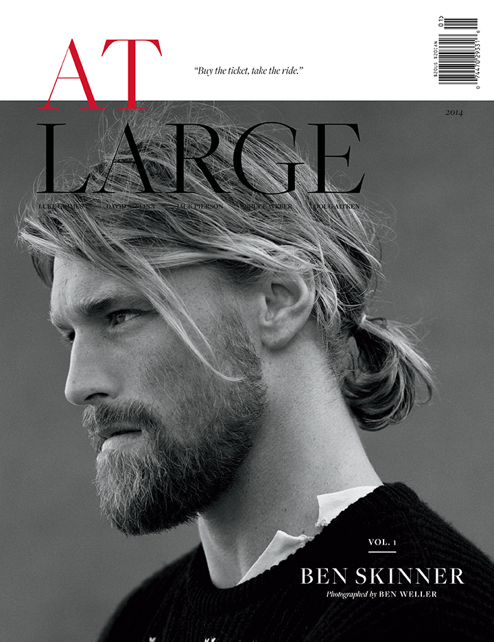 At Large Magazine Volume 1 Ben Skinner by Ben Weller