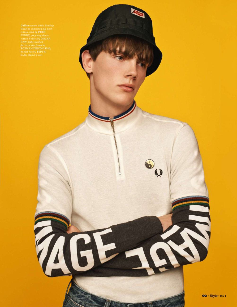 UK GQ Style Fall / Winter 2014.15 presents Brit Pop by Scott Trindle