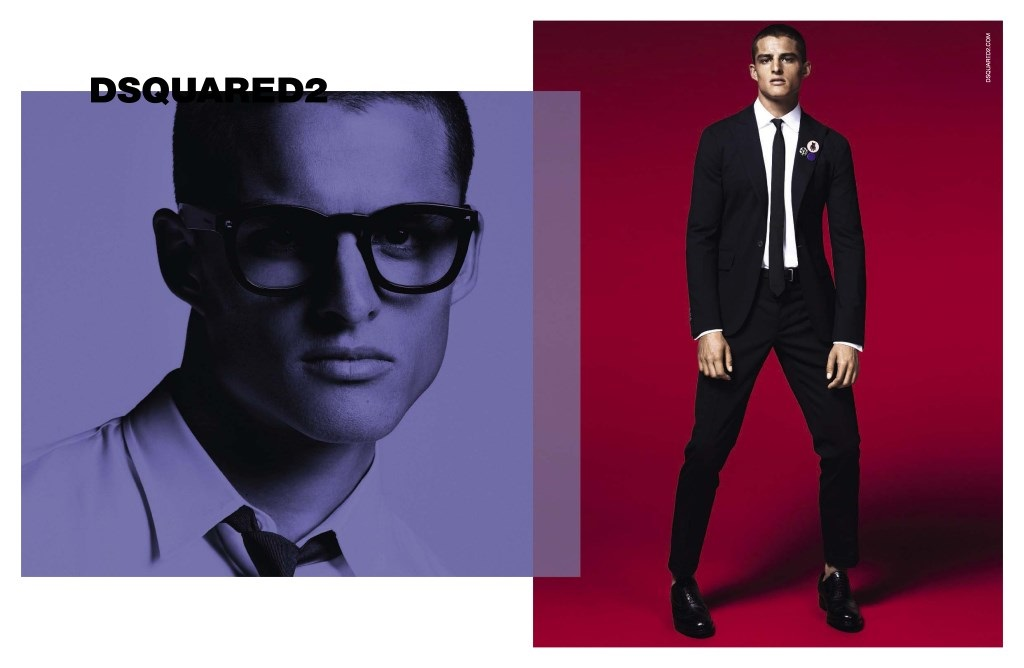 2136ca47e0 Dsquared² Mens Spring Summer 2015 - Fashionably Male