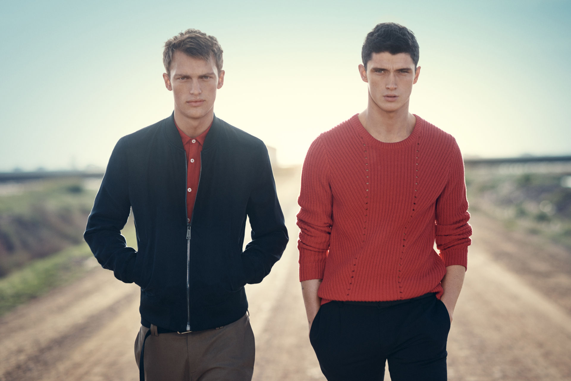 Major Inditex fast fashion company Zara exposed its New season: Spring/Summer 2015 Campaign starring by models Victor Nylander, David Alexander Flinn and Matthew Holt.