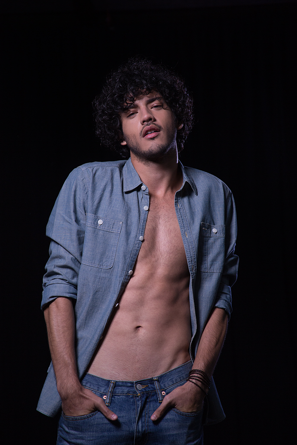 "Presenting for the very first time Photographer René de la Cruz from Chile with his project entitled ""Ensayo 36: Caio"". Starring Brazilian new face Caio Botelho from New Models (Chile) and Joy Models (Brazil). It's a good job meeting the objectives achieved, a beautiful potential model."