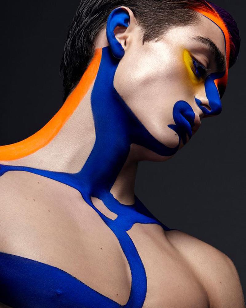 """Narcissus Colour"" for Divo. Photographer & Art Director: Paco Peregrín. Make Up & Hair: Junior Cedeño (International make up artist Dior). Models: Andrés Sanjuán & Benedikt (Uno Models). Digital Art: www.pacoperegrin.com"