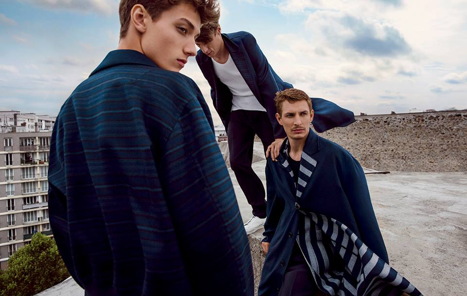 The Ermenegildo Zegna Couture SS 2015 ad campaign keeps on interpreting the dichotomy between ARCHITECTURE and SPACE, which was the primary inspiration behind the SS15 fashion show. Ph by Inez & Vinoodh. Creative concept by Stefano Pilati