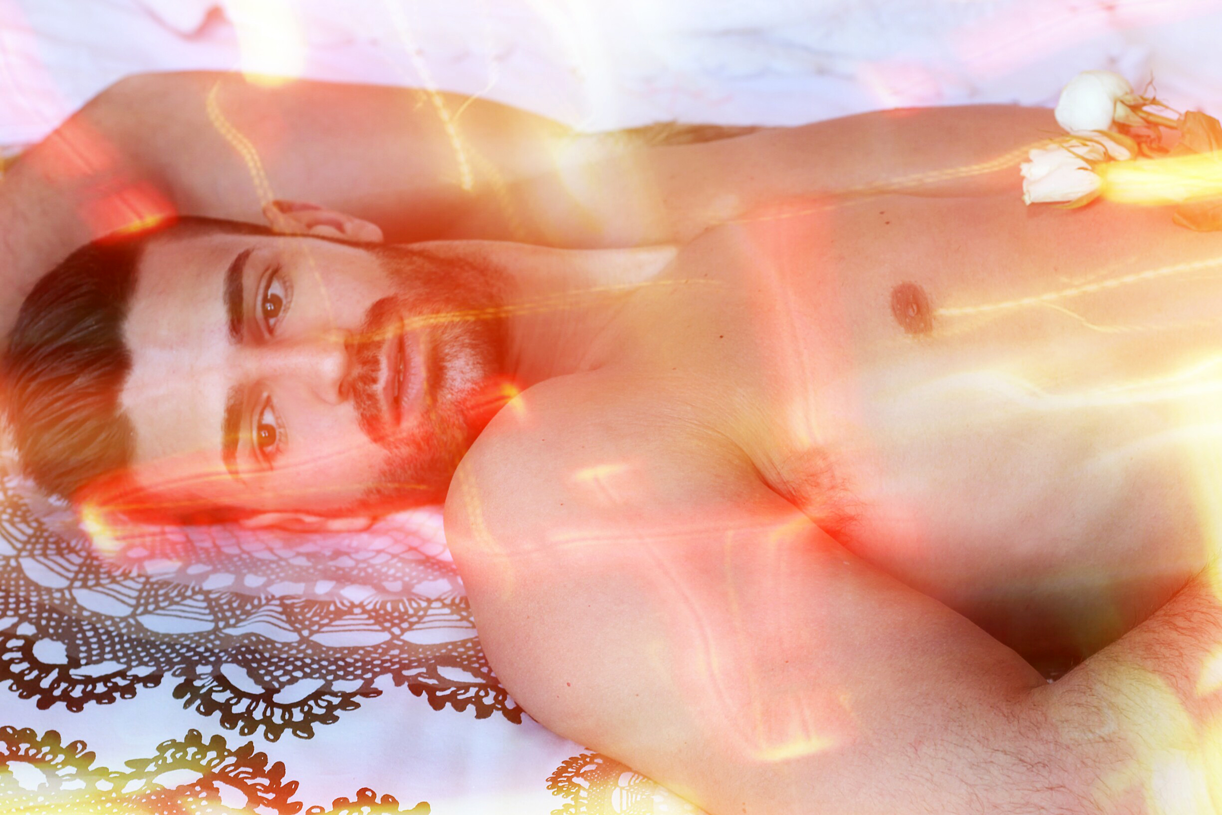 "Presenting the new story entitled ""fire man"" by Spanish photographer Pascual Ibañez with new comer David Beltrán, styled by Francis Montesinos and photography assistant by Cristian Lázaro."
