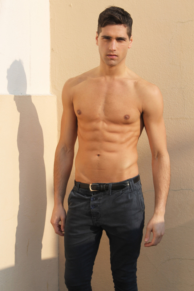 Hotter than ever and just in a polas is Fabio Mancini at Bananas Models Paris.