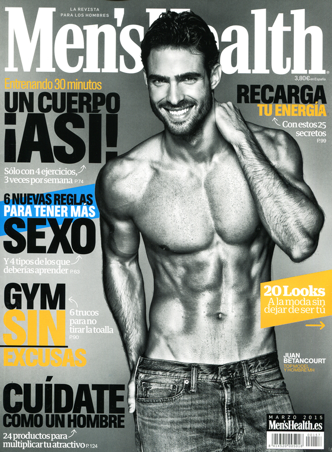 Juan Betancourt for Men's Health Spain