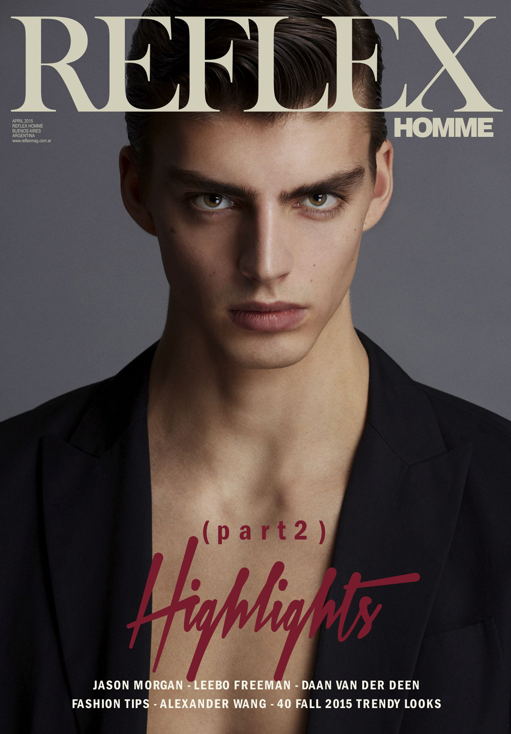 """Highlights Part 2"" is starring by Daan Van Der Deen for Reflex Homme shot by Anthony Batista , styled by Giorgio Ammirabile, art direction by Paul Lamb, grooming by Eloise Cheung. Supermodel signed by Soul Artist Management."