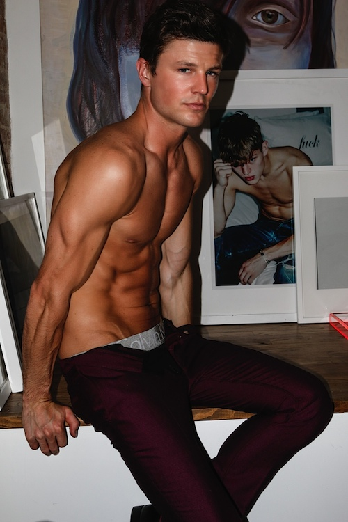 See the new hot story with candid male model Blake Kuchta shot by Joseph Lally for Out Magazine.