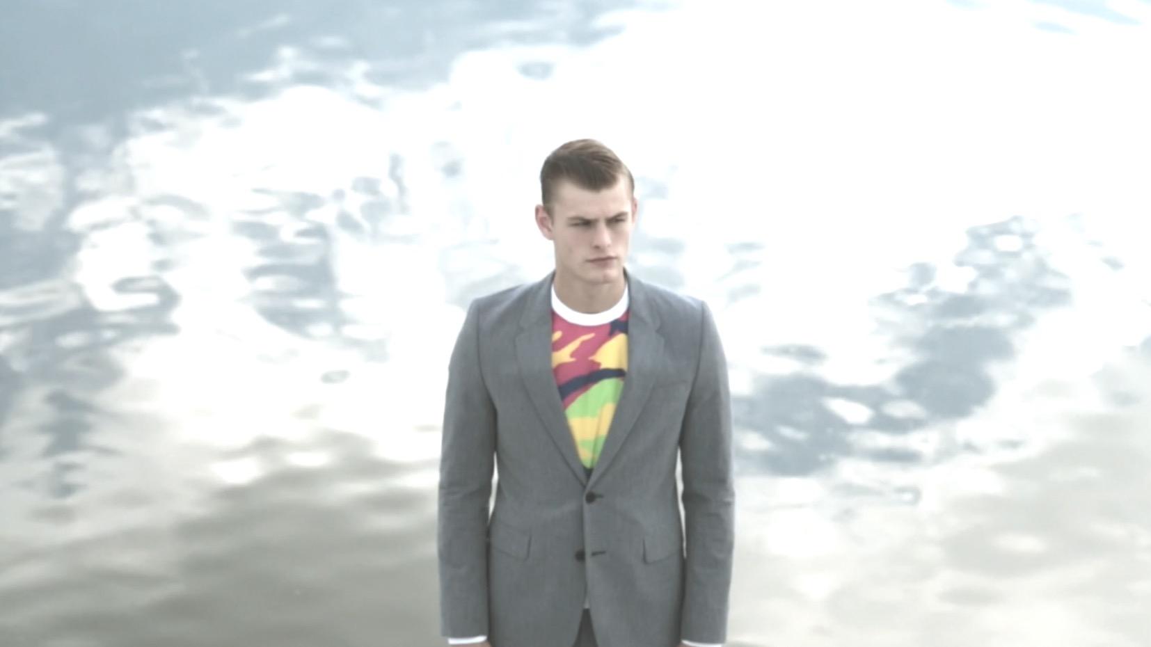 Model Noah Teicher for Men Moments Magazine by Michael del Buono.