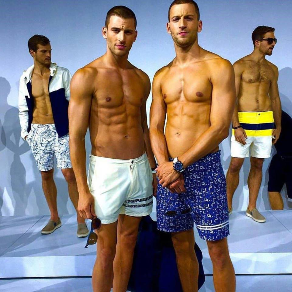 Nautica is stripping down for spring. Under the direction of new men's designer Steve McSween, the brand offered up a presentation that focused on the core of its DNA: bathing suits, rain jackets and nautical-inspired sweaters.