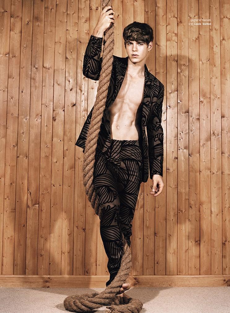 Harpers Bazaar Thailand Men   F/W 2015 features Paul Scala editorial work Fashion Editor/Stylist Jonathan Ailwood.