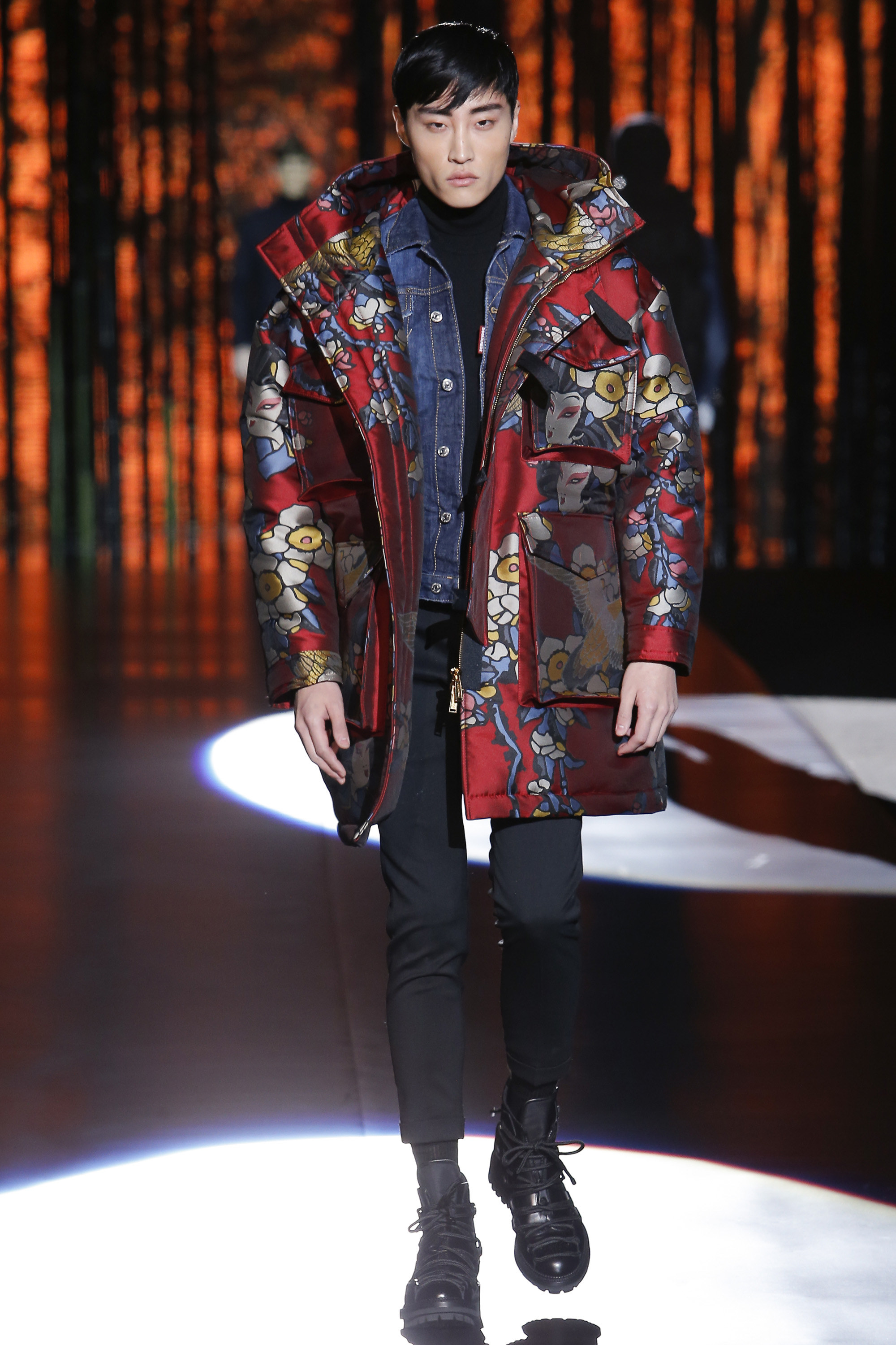 Dsquared2 Fall Winter 2016 Milan - Fashionably Male 1c82ee13bdf5