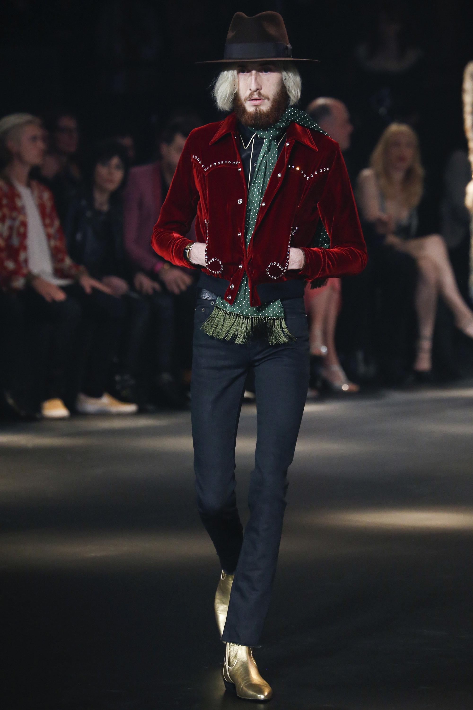 2c386fb0d7a Saint Laurent Fall/Winter 2016 Menswear - Fashionably Male