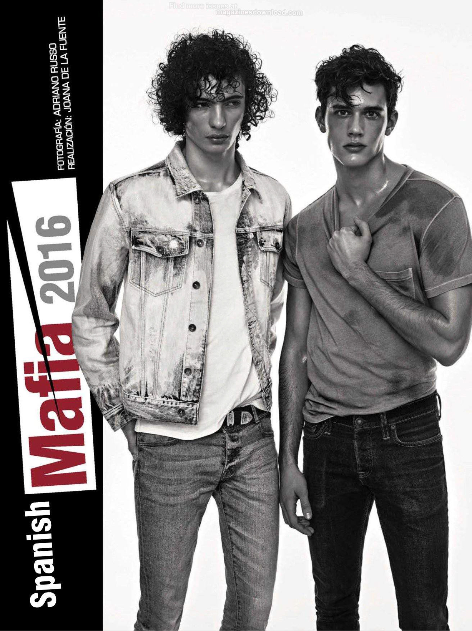 "GQ Spain presents ""Spanish Mafia 2016"" a work presented by Adriano Russo in the March Issue of this coming number. Starring by Spanish sensation: Adrian Cardoso, Dimytri Lebedyev, Xavier Serrano, Marçal Taberner, River Viiperi, Piero Mendez, Óscar Kindelan and Jaime Ferrandis all styled by talented Joana de la Fuente."