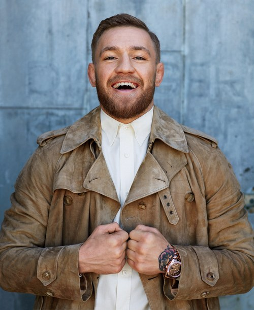f597a30e02c Conor McGregor empowers the Spring issue of GQ Style - Fashionably Male