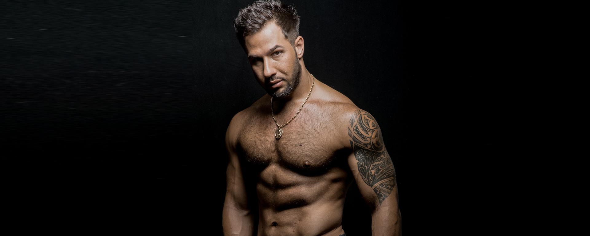 Muscle Men Getting Facials-Porno Pic-5587