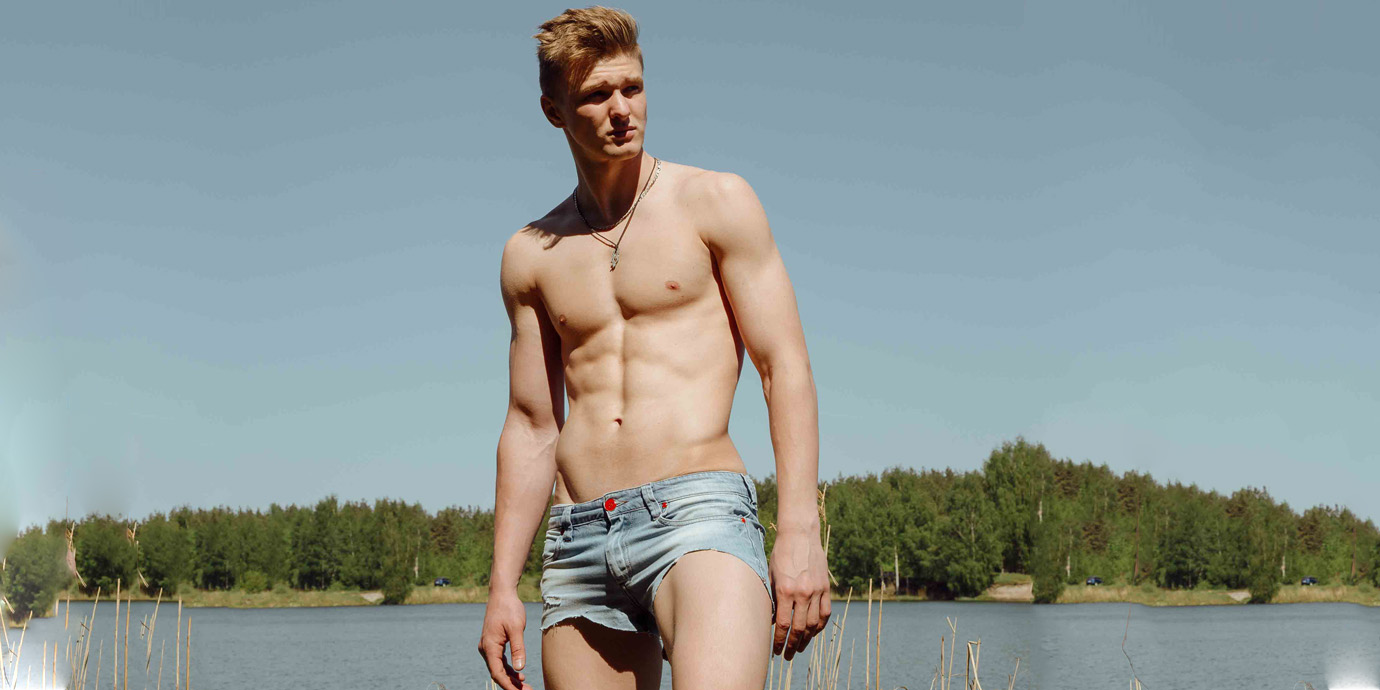 Meet New Russian Face Artyem Pukhov by Victor Llunco - Exclusive