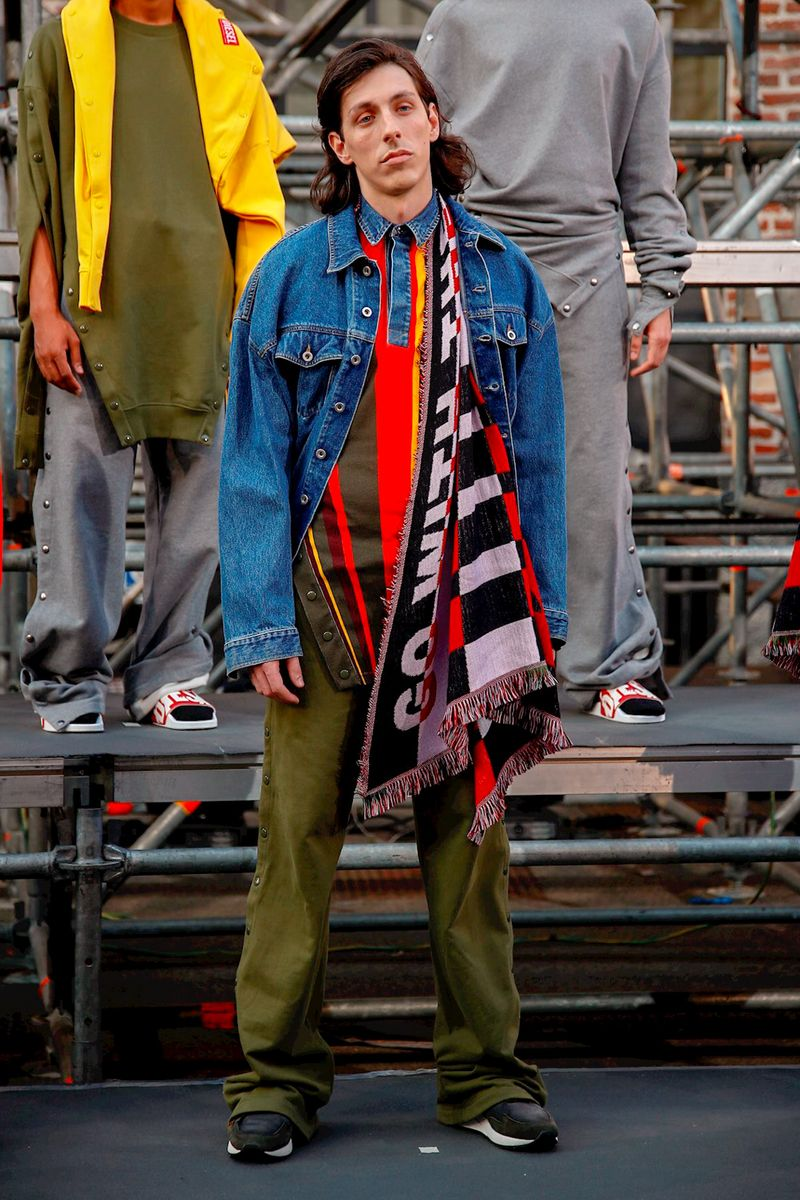 eb6aa314 ... Renzo Rosso and über talented Y-Project's Glenn Martens on the second  chapter of Diesel Red Tag. Diesel RED TAG Menswear Spring Summer 2019 Milan1