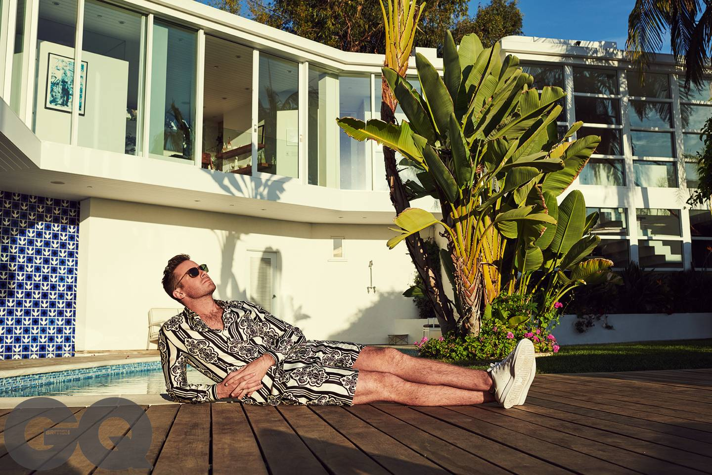 Actor Armie Hammer For British Gq March 2019 Fashionably Male