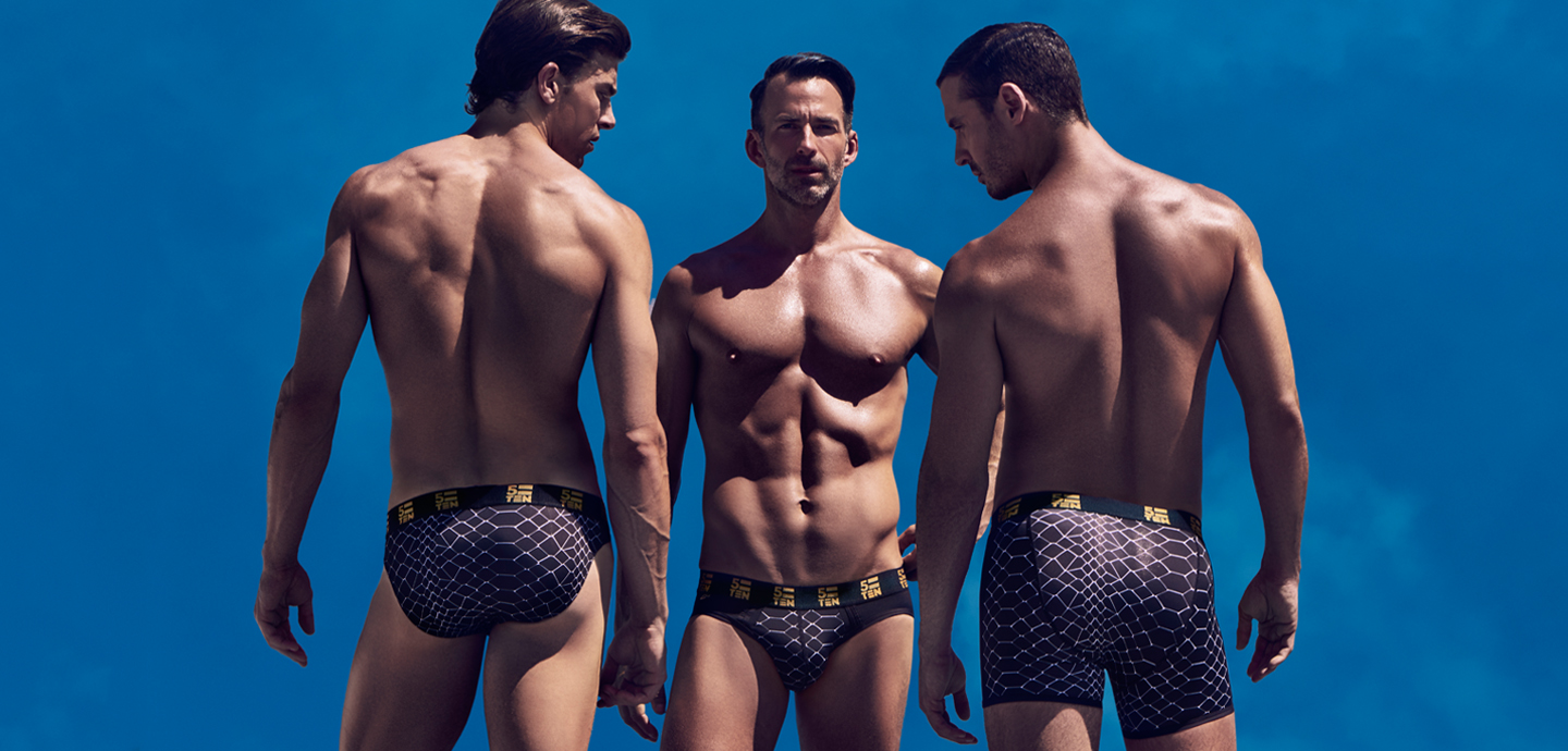 Ryan Young for 5=10 Underwear Exclusive Fashionably Male