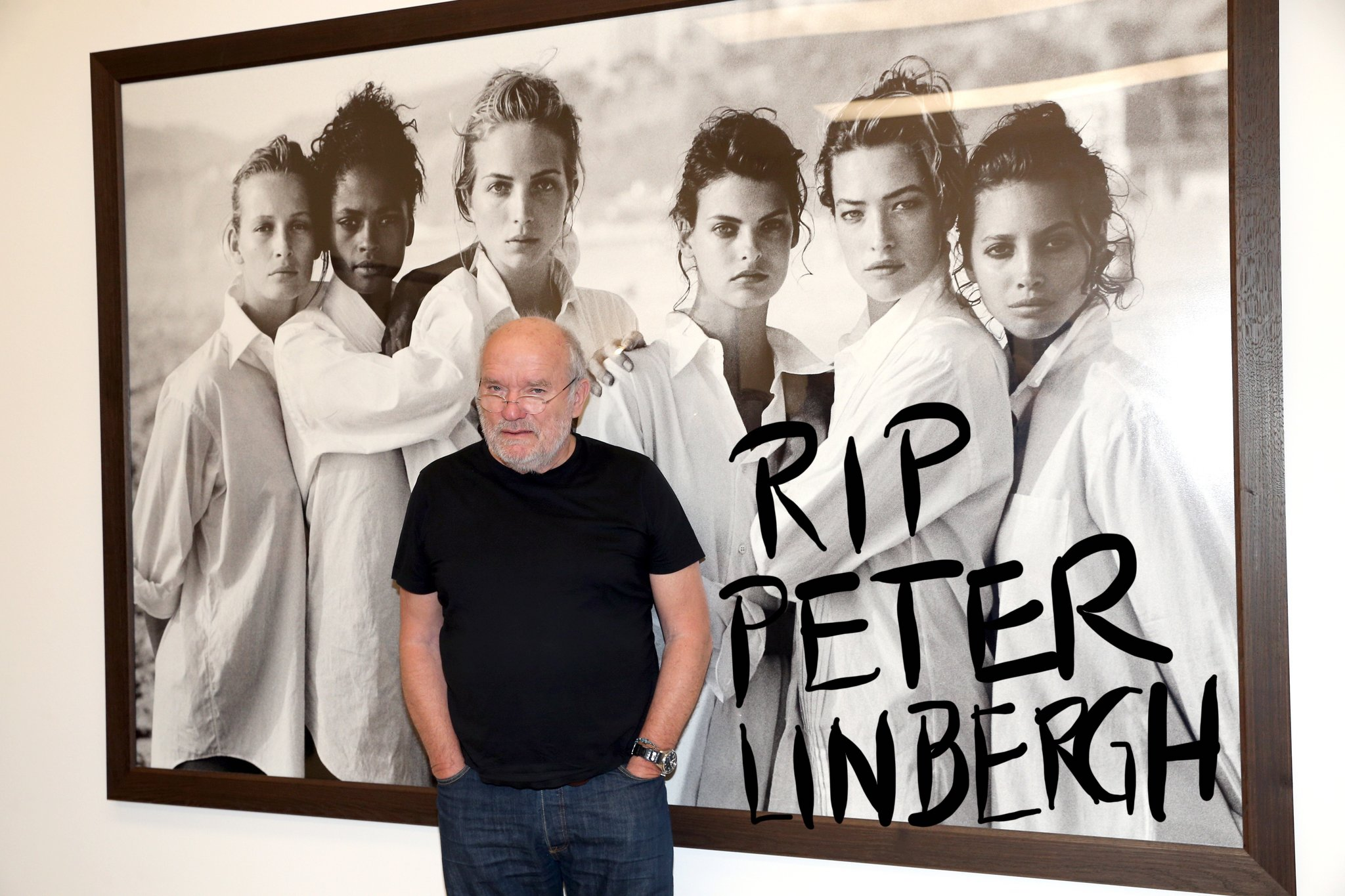 Peter Lindbergh in 2017 in Munich