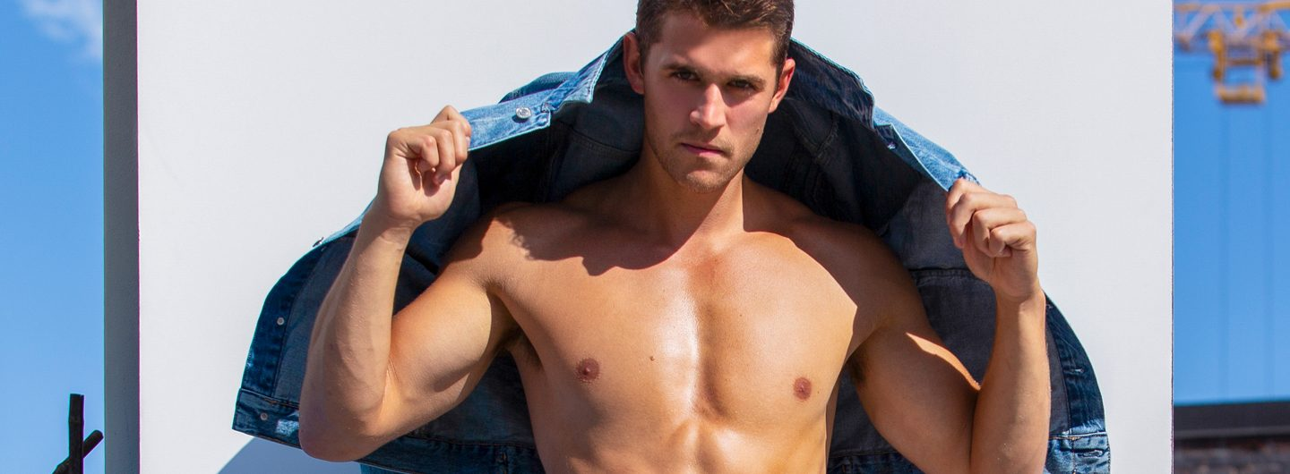 Connor Anthony by Jamie Mann for Fashionably Male cover