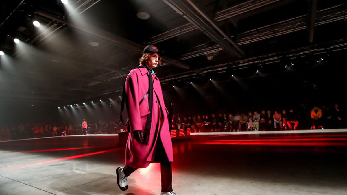 MSGM Menswear Fall Winter 2020 Milan cover