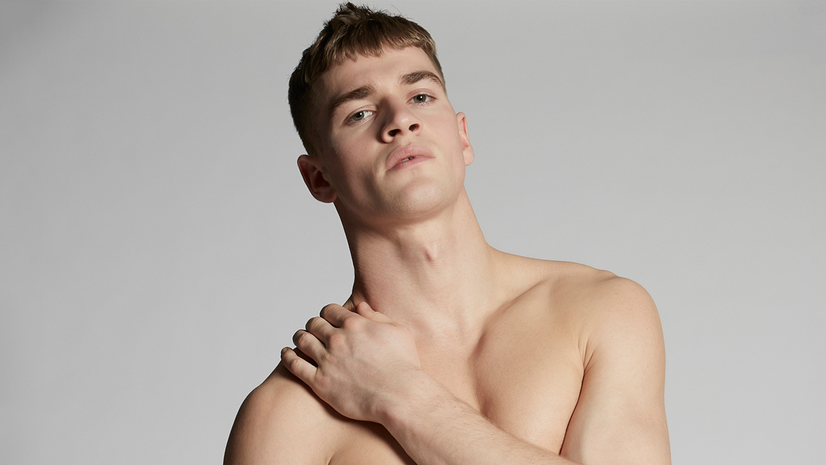 Matty Carrington for Dsquared2 cover