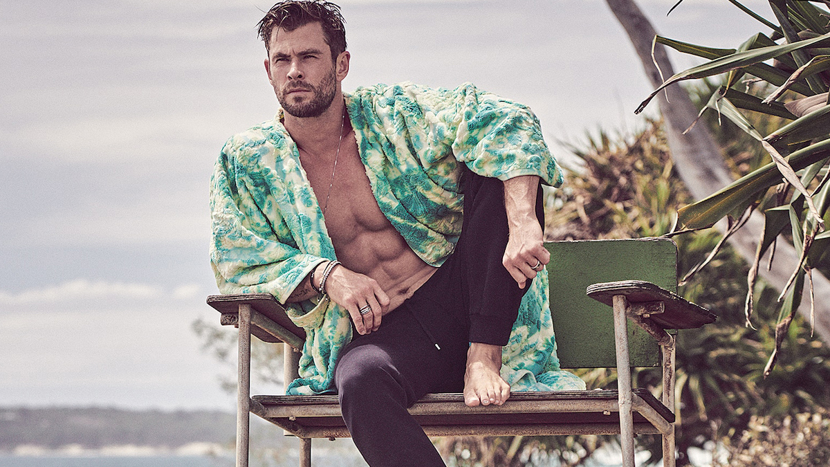 Chris Hemsworth for GQ Australia May/June 2020 by Matthew Brookes