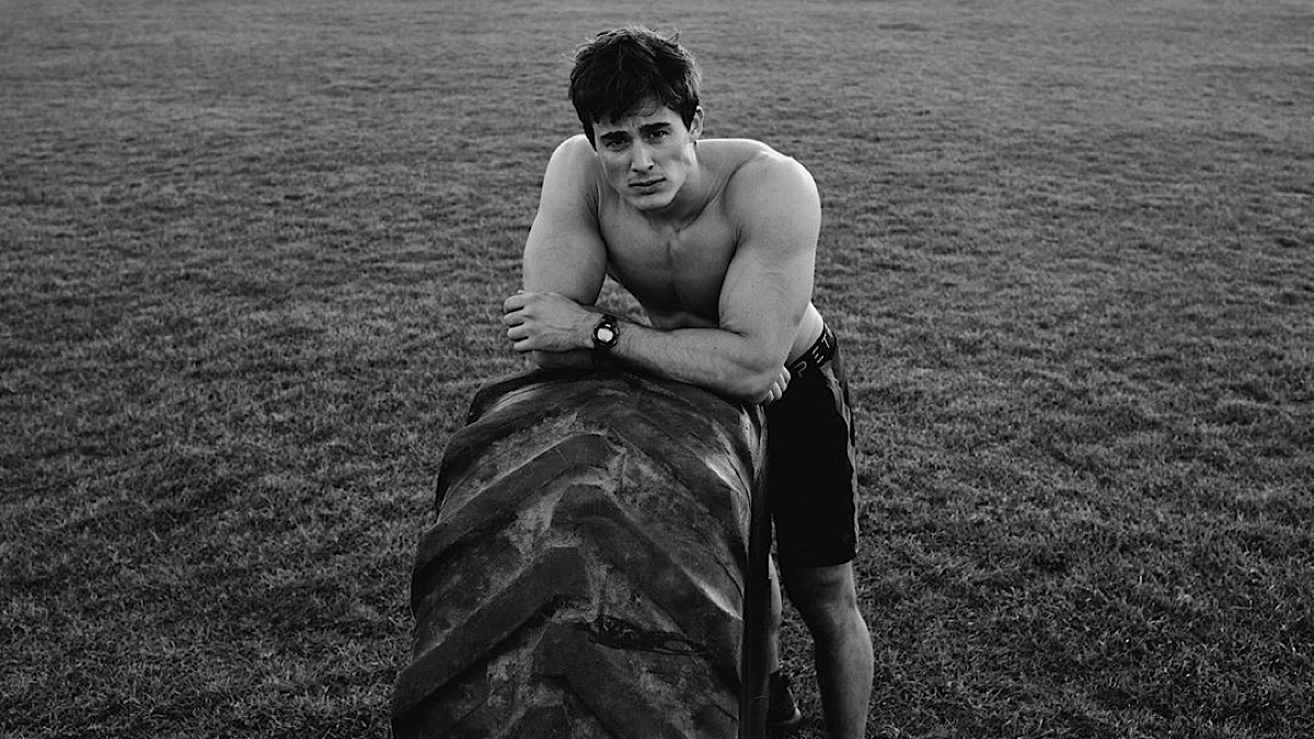 Pietro Boselli by Ollie Ali for Harpers Bazaar Italia Cover