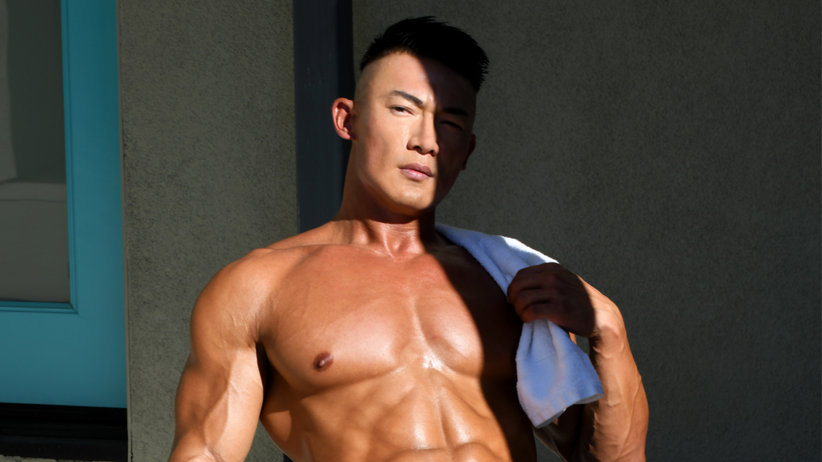 Chris Wang by Matthew Mitchell for Fashionably Male cover