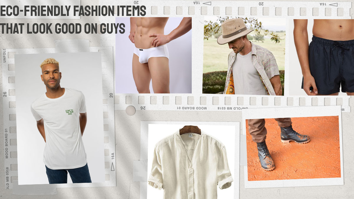 Eco-Friendly Fashion Items That Look Good On Guys cover