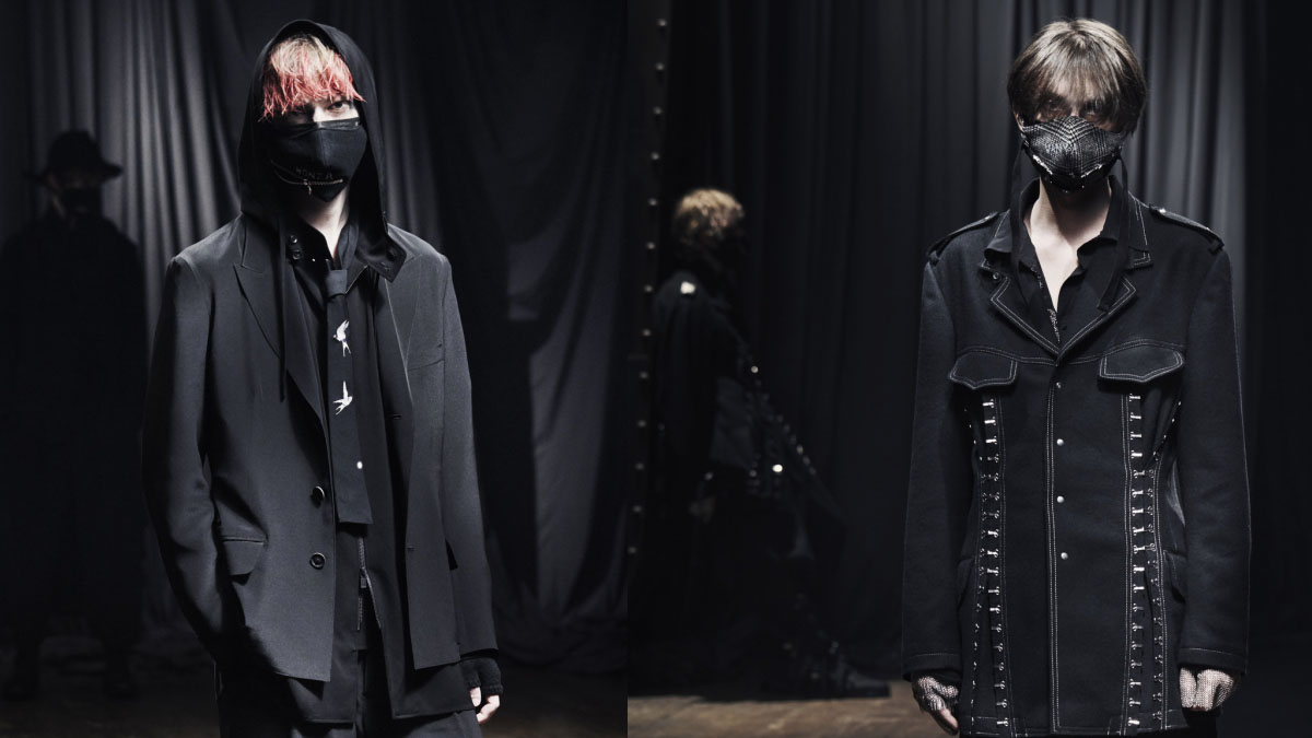 Yohji Yamamoto Menswear Fall 2021 Paris cover