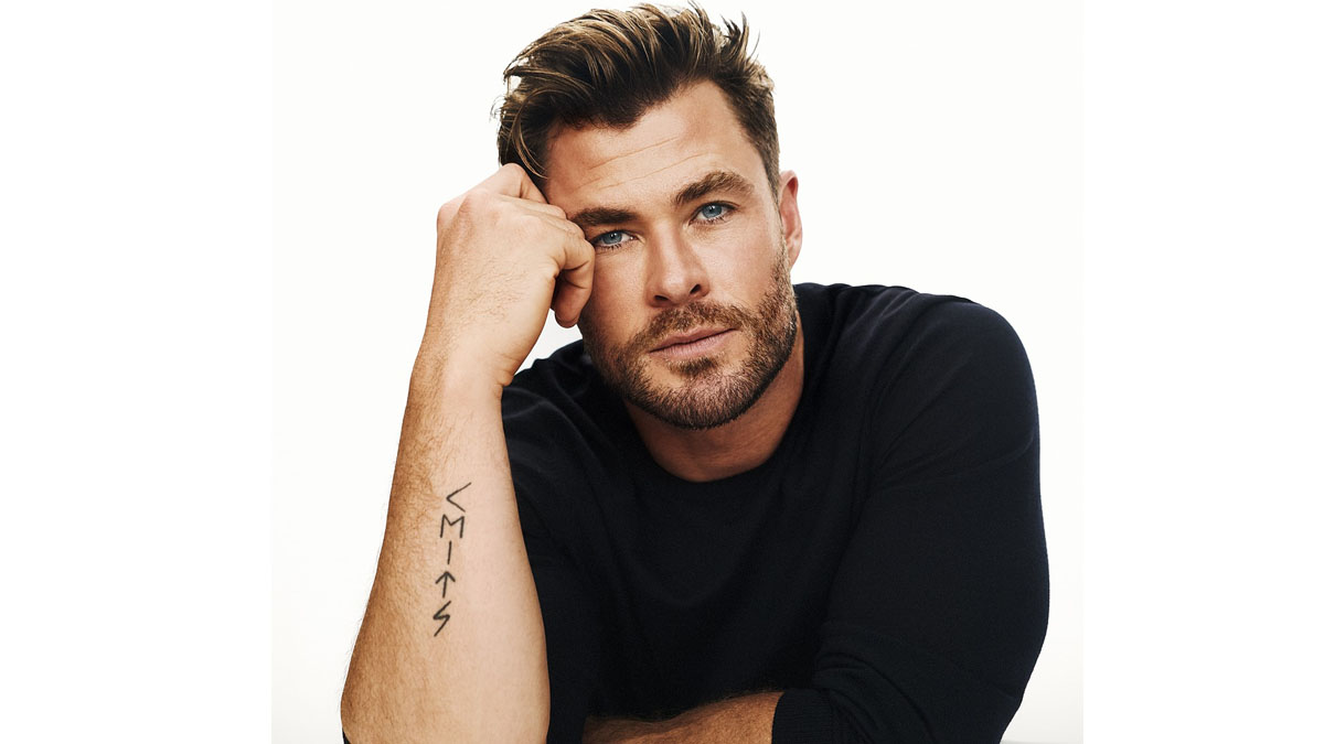 Actor Chris Hemsworth is the new Global Ambassador for BOSS cover