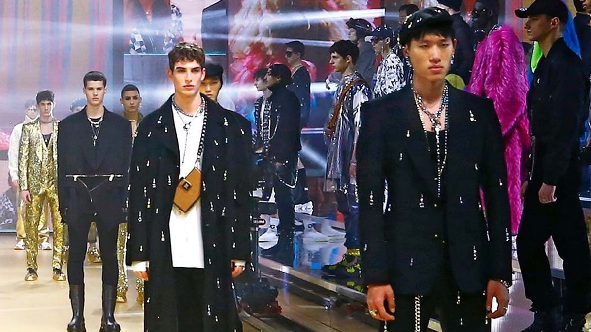 Dolce and Gabbana Mens Fall 2021 Show cover