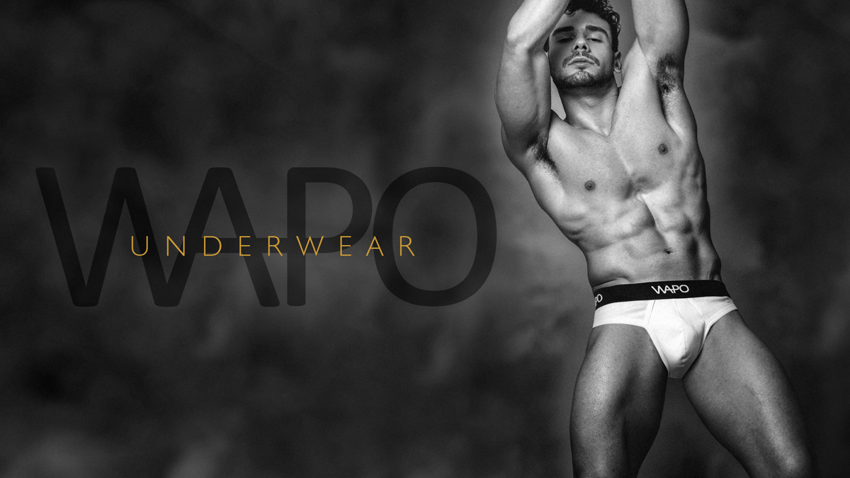 Matteo Sulas by Simone Pilia for WAPO Wear Underwear cover