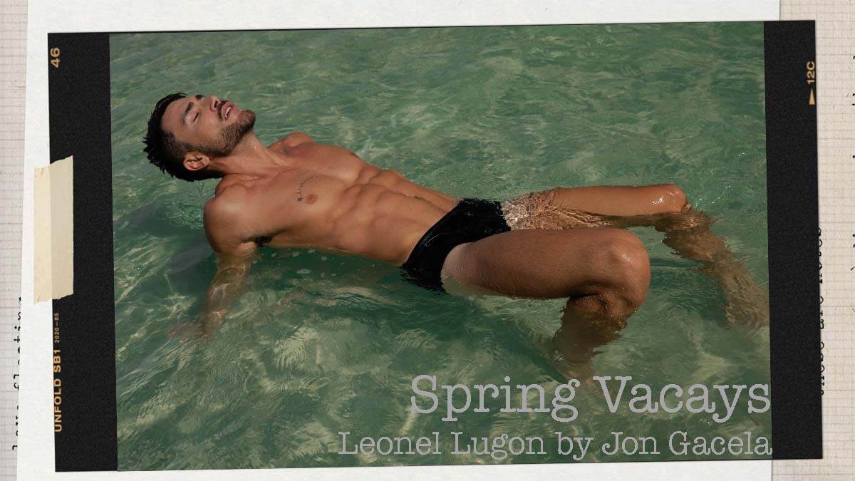 Leonel Lugon by Jon Gacela for Fashionably Male cover